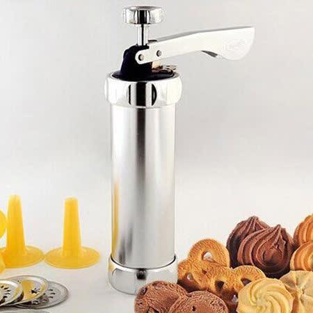 【PS Mall】鋁合金筒身花餅乾機 曲奇餅乾擠壓機裱花嘴筒 (J500)