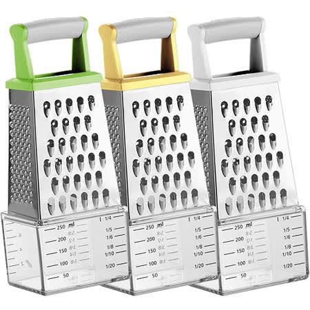《TESCOMA》Handy 4in1筒形刨刀+刻度收納盒