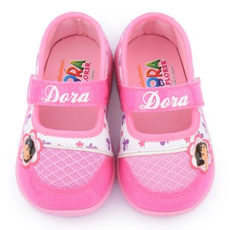 童鞋城堡-朵拉 中童 甜美簡約風休閒鞋DR87051-桃