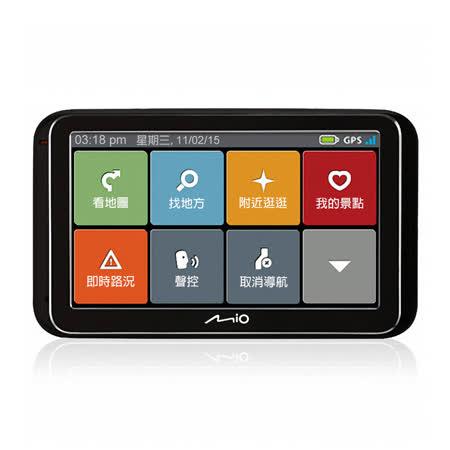 Mio Classic 630 Traffic 5吋 即時路況資訊 專利動態預警 聲控 導航機【送 防震硬殼包+電容觸控筆+保護貼+購物袋】