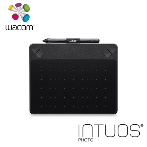 Wacom Intuos Photo 相片 創意觸控繪圖板-經典黑(S) CTH-490/KC-CX