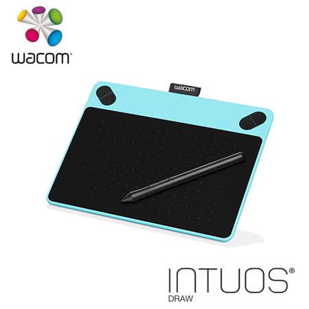 Wacom Intuos Draw 塗鴉 創意繪圖板-時尚藍 CTL-490/B0-CX