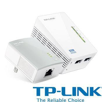 TP-LINK TP-LINK TL-WPA4220KIT 300Mbps 電力線網路橋接器 雙包組(Kit)