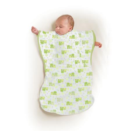 美國Summer Infant 小蝴蝶背心睡袋-麻吉青蛙