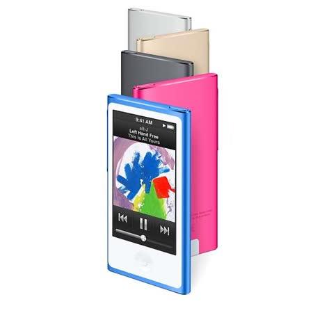 Apple iPod nano 16GB 多點觸控顯示器 可攜式媒體播放器 - 2015年新色到【贈專用充電器及襪套】