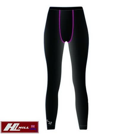 【HILL】運動/路跑 透氣彈性內搭褲-女款(M/L/XL)