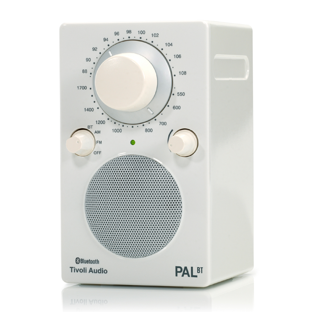 Tivoli Audio PAL BT AM/FM 收音機藍牙喇叭-白色