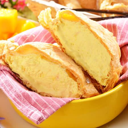 【艾波索-芒果千層冰心泡芙3入】夏季芒果酸甜好滋味 各大媒體強力推薦