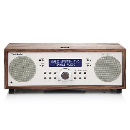 Music System II HI-FI 藍牙喇叭收音機(胡桃木色)