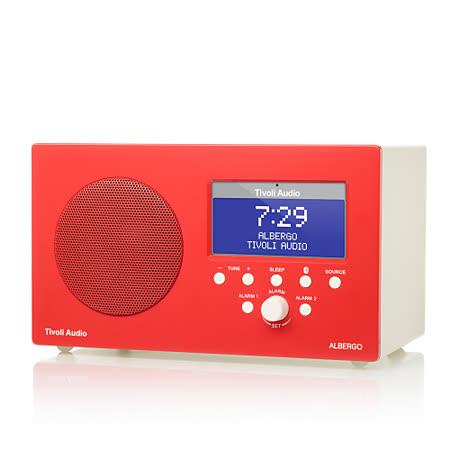 Tivoli Audio - Albergo 藍牙鬧鐘收音機喇叭(紅色)
