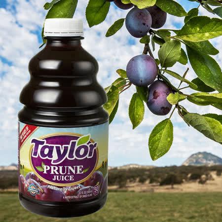 Taylor天然加州黑棗汁(946ml/瓶)x3瓶
