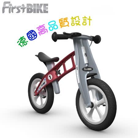 【FirstBike】德國 寓教於樂-兒童滑步車/學步車(火箭紅)