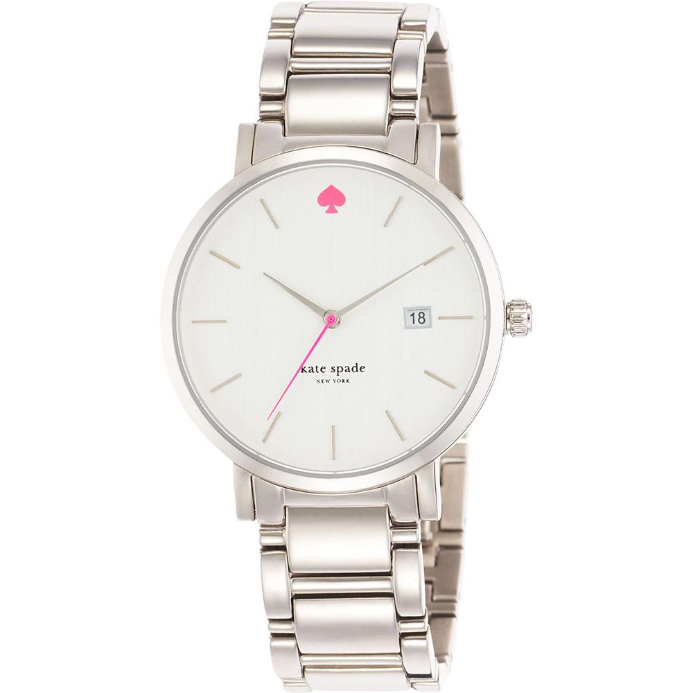 Kate Spade Gramercy 紐約甜心腕錶~銀38mm 1YRU0008