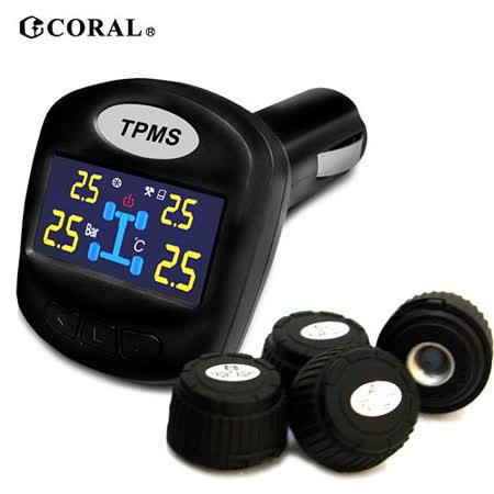 TPMS-403DIY 無線胎壓偵測單車 行車紀錄器器