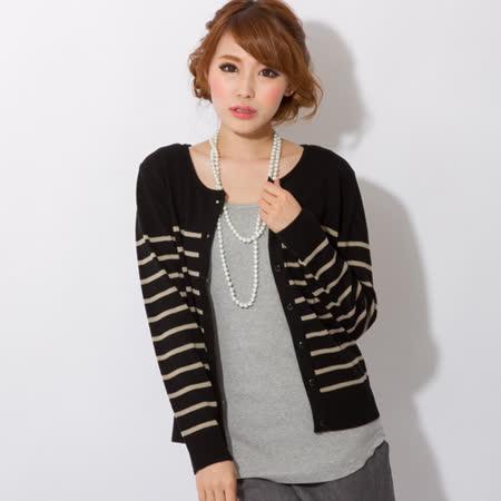 日本Portcros 現貨-實穿好搭簡約針織開襟外套(芥末黃/M)