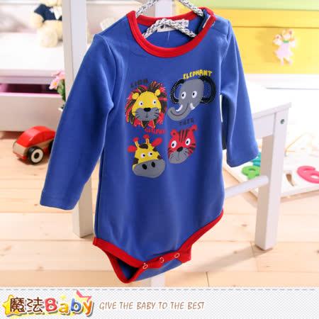 魔法Baby~嬰兒長袖包屁衣 k42985