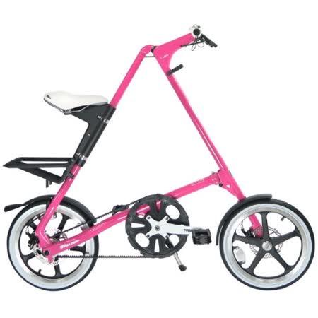 STRiDA 速立達 16吋LT折疊單車(碟剎) 粉紅