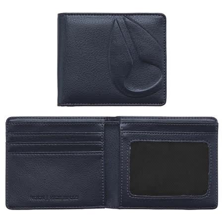 NIXON 品牌經典潮流時尚短夾-深藍