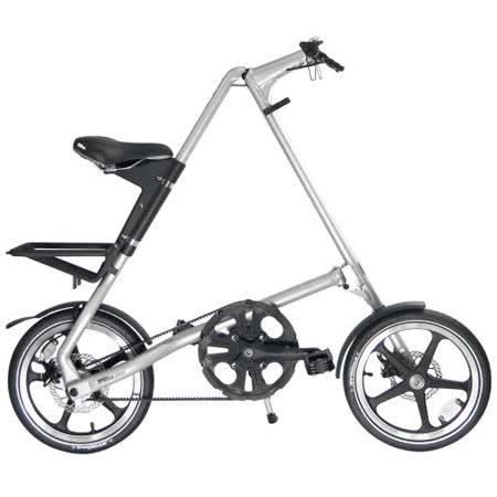 STRiDA 速立達 16吋LT折疊單車(碟剎) 噴砂銀
