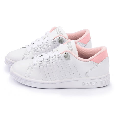 K-SWISS 女款 LOZAN III 時尚休閒鞋93212-182-白粉