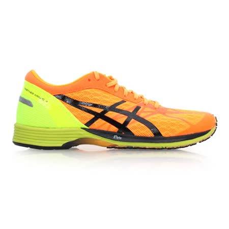 (男女) ASICS TARTHER KAINOS 虎走路跑鞋 - 慢跑 亮橘螢光綠