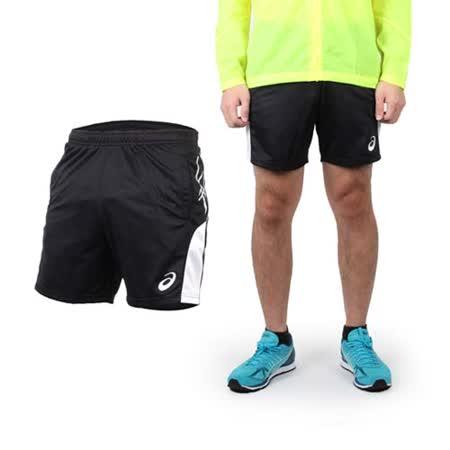 (男) ASICS 排球短褲 - 休閒短褲 運動短褲 亞瑟士 黑白