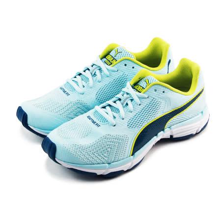 (女)PUMA MOBIUM RIDE V2 WN 慢跑鞋 淡藍/黃綠-18815701