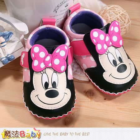 魔法Baby~寶寶鞋 米奇授權專櫃正品寶寶外出鞋 sh7629