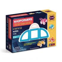【Magformers 磁性建構片】寶貝金龜車14pcs-藍 ACT06104-B
