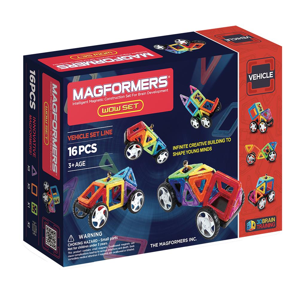 ~Magformers 磁性建構片~迷你車16pcs ACT05911