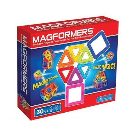 【Magformers 磁性建構片】磁性建構片-30片裝 ACT06065