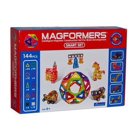 【Magformers 磁性建構片】綜合144pcs ACT05893