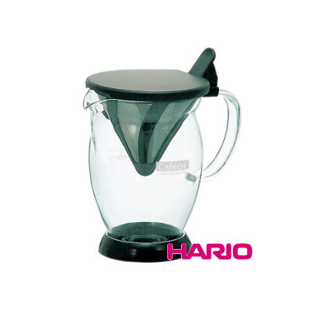 日本【HARIO】V60免濾紙咖啡分享杯300ml / CFO-2B