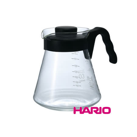 日本【HARIO】V60好握03黑色咖啡壺1000ml / VCS-03B