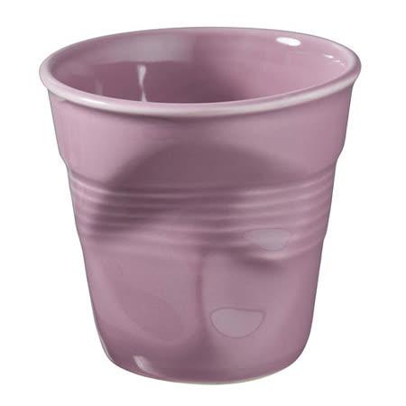 法國 REVOL FRO 藍莓色 陶瓷皺折杯 80cc