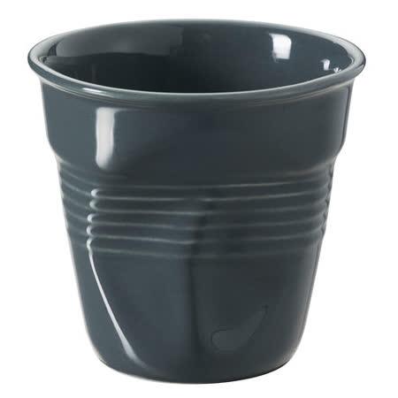 法國 REVOL FRO 灰色 陶瓷皺折杯 180cc