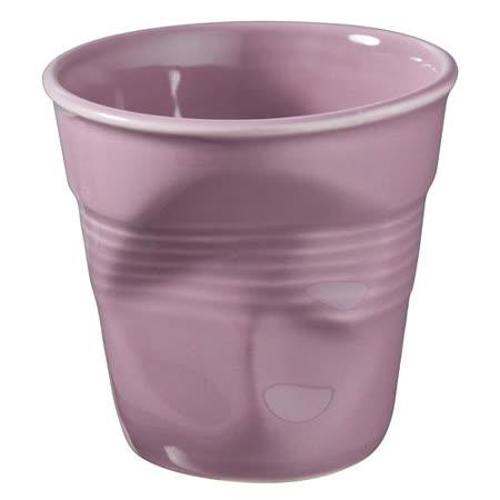 法國 REVOL FRO 藍莓色 陶瓷皺折杯 180cc