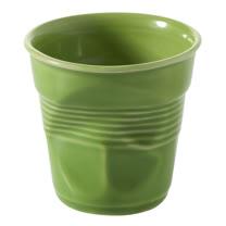 法國 REVOL FRO 青綠色 陶瓷皺折杯 180cc