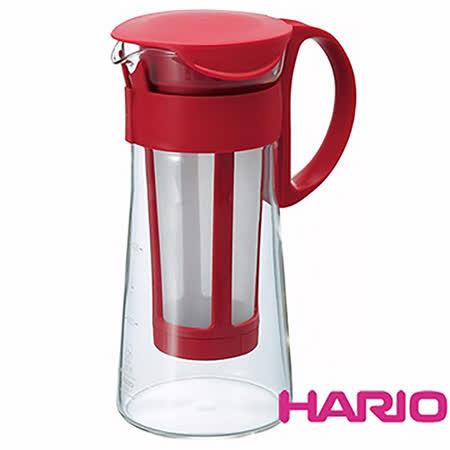 HARIO 迷你紅色冷泡咖啡壺600ml MCPN-7R