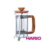 HARIO 橄欖木濾壓咖啡壺300ml CPSW-2-OV
