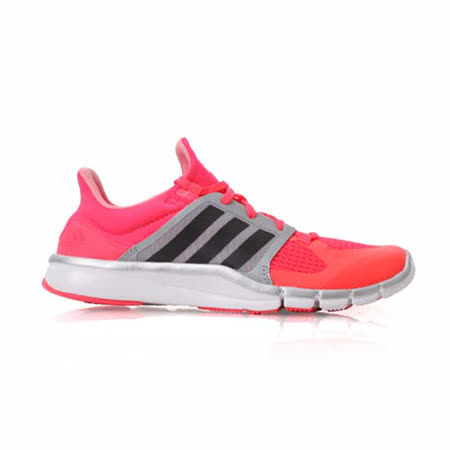 (女) ADIDAS ADIPURE 360.3 W 多功能訓練鞋-愛迪達 螢光粉黑