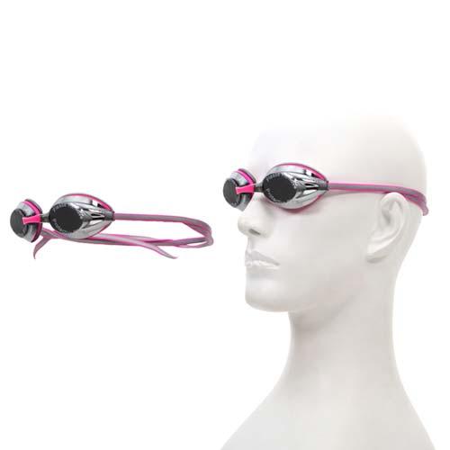 SPEEDO 成人競技偏光泳鏡 AQUAPULSE MAX 2鏡面 -桃園 愛 買 營業 時間游泳 紅灰 F
