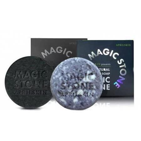 韓國 APRILSKIN-MAGIC STONE 100%天然魔法石潔顏皂(100g) 任選兩入