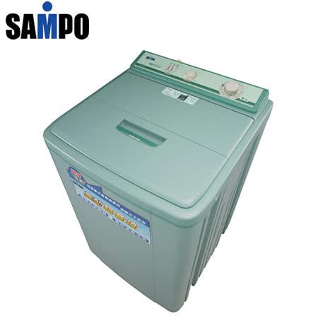[促銷]SAMPO聲寶 11公斤震動超音波機械式單槽洗衣機ES-116SV(T) 送安裝
