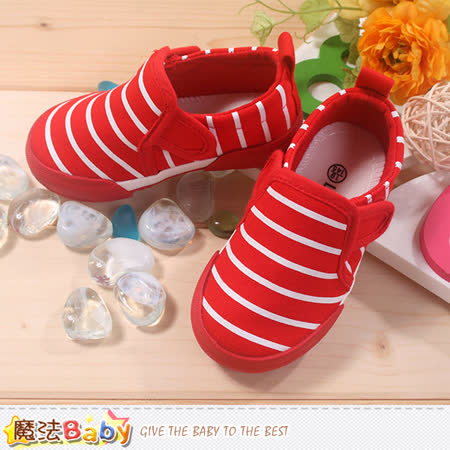 魔法Baby~女童帆布鞋 sh7926