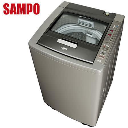 [促銷]SAMPO聲寶 PICO PURE變頻好取式15公斤洗衣機ES-DD15P(K1)送安裝