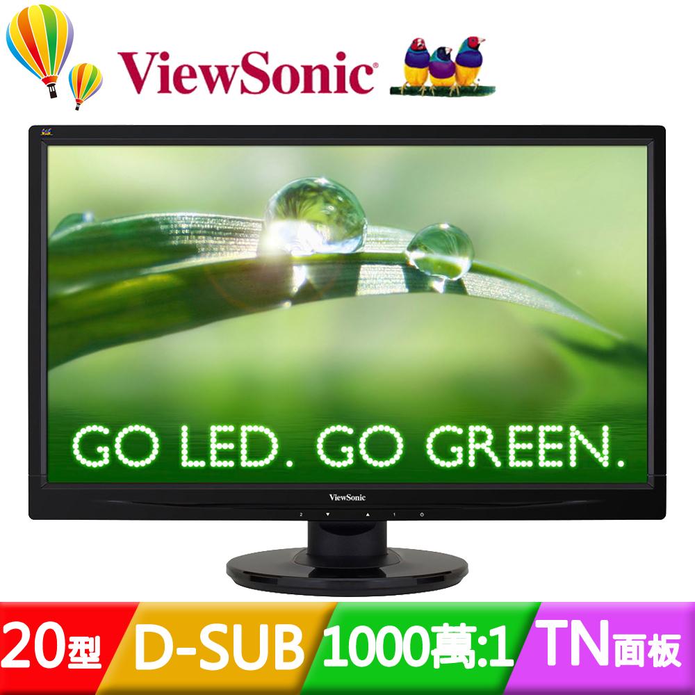 ViewSonic 優派 VA2046a~LED 20型LED液晶螢幕