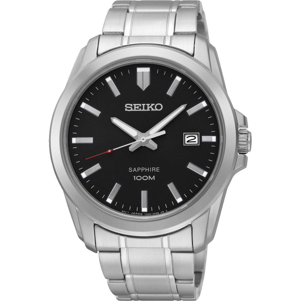 SEIKO CS系列大三針石英錶~黑41mm 7N42~0GD0D^(SGEH49P1^)