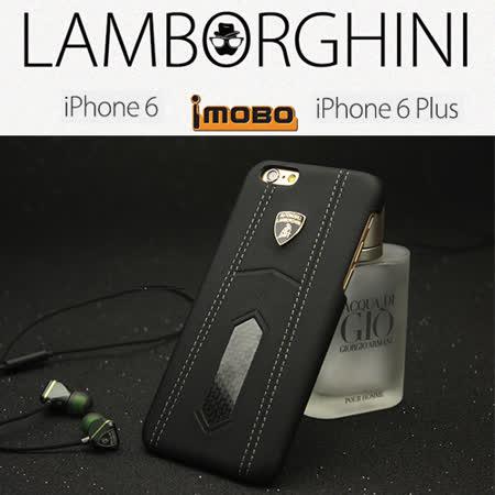 義大利藍寶堅尼Lamborghini 授權iPhone 6 PLUS / 6S PLUS 頂級真皮碳纖維手機背殼(5.5吋)
