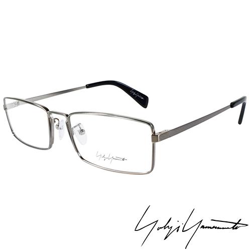 Yohji Yamamoto 山本耀司 前衛方框光學眼鏡~銀~YY3003~914